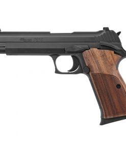 "SIG Sauer P210 Standard 9mm Luger Semi Auto Pistol 5"" Barrel 8 Rounds Walnut Grips Black Nitron Finish"