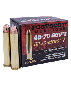 45/70 Government 325gr. Brass Monolithic 500Rds