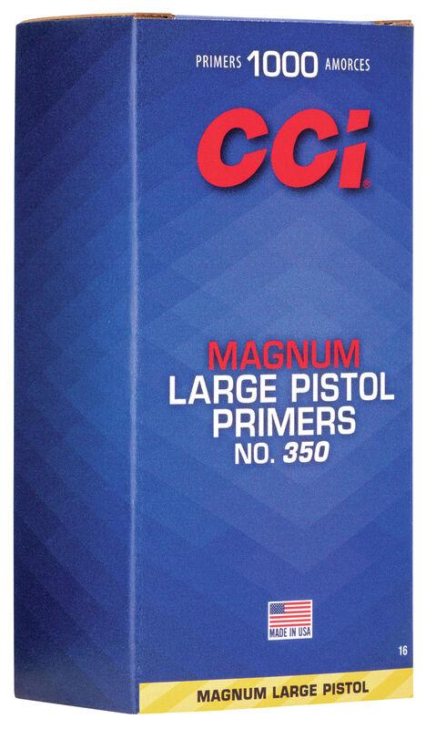 Magnum Pistol Primer 500 Rds