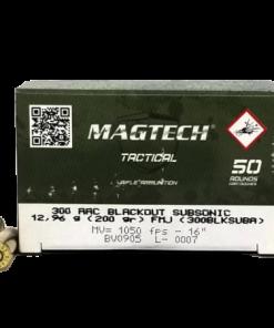 MAGTECH 300 AAC BLACKOUT AMMUNITION TACTICAL SUBSONIC 500 ROUNDS