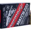 NORMA 223 REM AMMUNITION MATCH 500 ROUNDS BOX