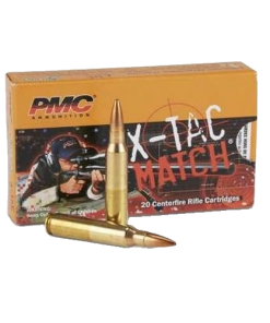 PMC 223 REMINGTON X-TAC MATCH AMMUNITION 500 ROUNDS BRASS CASING