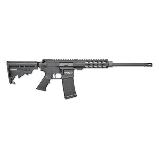 "Rock River LAR-15 RRAGE Carbine .223/5.56 NATO AR-15 Semi Auto Rifle 16"" Barrel 30 Rounds Free Float M-LOK Handguard Collapsible Stock Black"