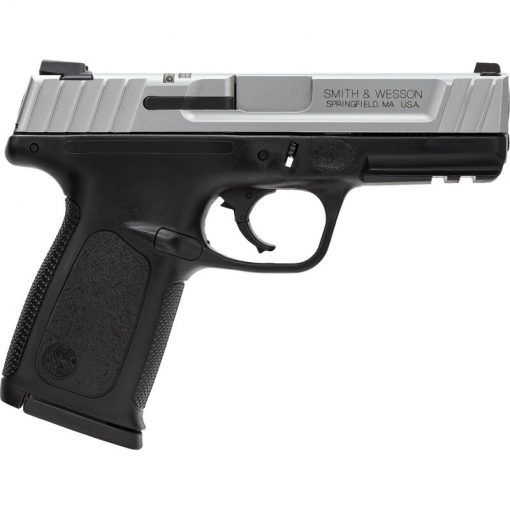 """Smith & Wesson SD9 VE 9mm Luger Semi Auto Pistol 4"""" Barrel 16 Rounds Polymer Frame Two Tone Finish"""