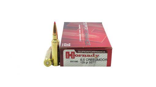 HORNADY SUPERFORMANCE-6.5-CREEDMOOR 129 500 Rds