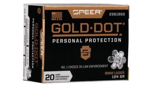 SPEER GOLD-DOT-9MM-LUGER