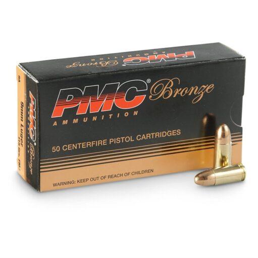 BUY PMC-BRONZE-9MM 115 GRAIN 500 RDS